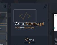Portfolio Site - Artur Mędrygał