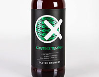 Kristin's Temper Beer Label