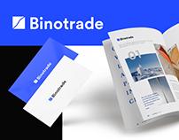 Binotrade — Landing Page Design
