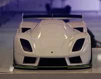 Porsche 927 Final model