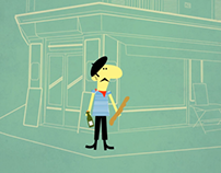 Animation for the French Ambassy (school project)