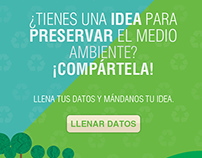 Campaña Deja Huella Verde - Servientrega Ecuador