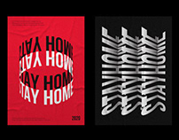 Posters — Stay Home