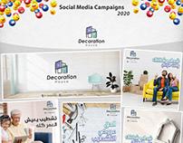 Social media campaigns 2020