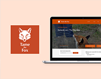Tame the Fox | Website UX/UI Design