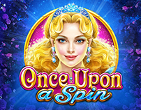ART DIRECTION FOR SLOTOMANIA SLOT - ONCE UPON A SPIN