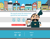 Landing Page - Italian Food Restaurants