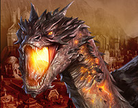 The Hobbit: Kingdoms of Middle Earth - Marketing Art