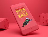 DesignerKang2015 Website UX/UI Renewal