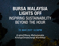 Earth Hour 2017   Bursa Malaysia