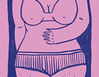 Waist Management Zine // Illustration