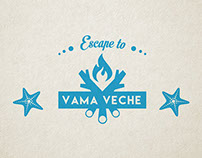 "The identity for ""Escape to Vama Veche"" event."