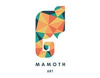 Logo for Mamoth Art