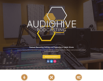 Audiohive Podcasting Logo & Website