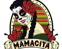Mamacita Food Truck Logo