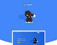 Progville. Website Design for IT company (UI/UX)