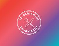 Yeldeğirmeni Sandviççisi - Logo