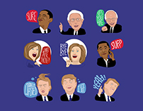 Election 2016 Emoji