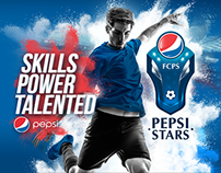Pepsi - Pepsi Stars - Master Visual & Logo