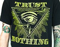 Camiseta para Trust Nothing