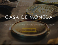 Web Site Casa de Moneda
