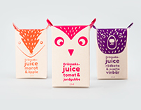 Vegetable juice packaging