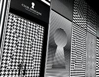 Club Designer Window Display of Breeze Nan Shan