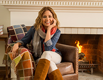 Jenna Fischer Cover Shoot