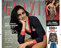 PV SINDHU: NOV 2016 GRAZIA INDIA COVER
