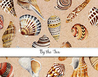 By the Sea Gift Wrap & Invitation Collection