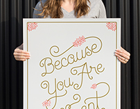 Because You Are Different poster