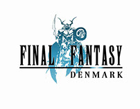 Final Fantasy Denmark Visual Identity
