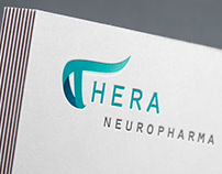 Thera neuropharma - logo, brand, web design / develop