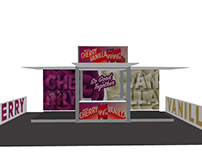 Pop-Up container for Cherry Vanilla Coke