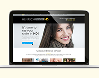Henrich Dental Website