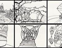 Felt drawing - Week n°26 - 2020