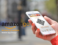 Amazon Go Mobile App Design