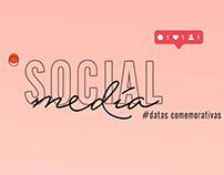 Social Media   Datas Comemorativas