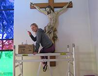 Church restorations project @ Wrightway studios