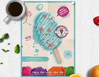 Ice Cream Promotion Flyer