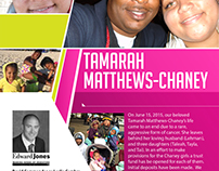 Tamarah Matthews-Chaney Benefit