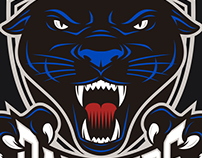 Mollet Panthers Logo