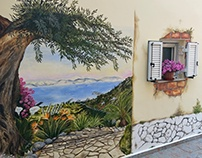 Mural / Wall Art.Corfu Island