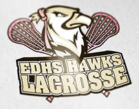 El Dorado High School Girls Lacrosse Team Logo