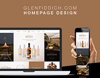 Homepage UX and Design
