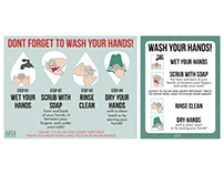 ARIA Children's Fund: Hand Washing Signs