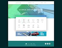 Payment Website Design Concept
