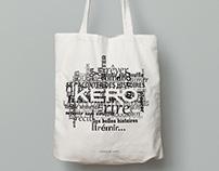 Tote bag des Éditions KERO
