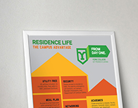 Residence Life Infographic