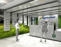 amenajare birouri - AGRICOVER - proiect